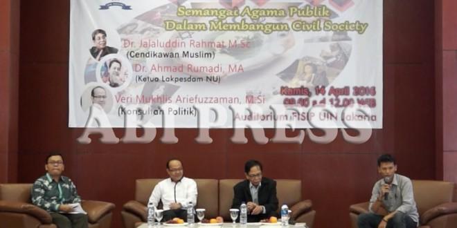Semangat Agama Publik Dalam Membangun Civil Society