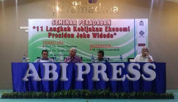 Menimbang Kebijakan Ekonomi Jokowi