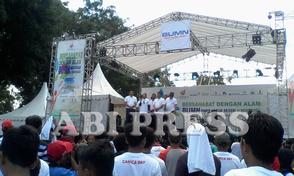 Deklarasi Carica Day, Angkat Buah Lokal Khas Wonosobo ke Tingkat Nasional dan Internasional