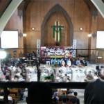 Tembang Perdamaian Gus Nuril di GKJ Wonosobo