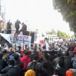 Tuntut Peningkatan Kesejahteraan Guru Honorer Wonosobo Demo Dewan