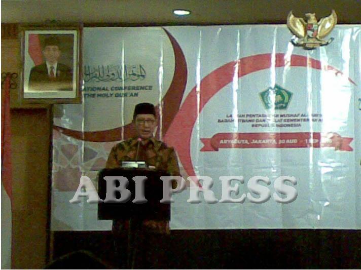 Menag Launching Aplikasi Android Al-Quran