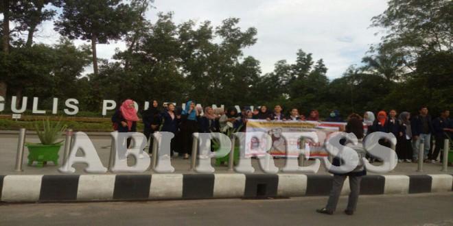 Aksi Damai Peringati Sumpah Pemuda, Aliansi Pemuda dan Mahasiswa Tuntut Pemilikada Kalbar Bersih SARA