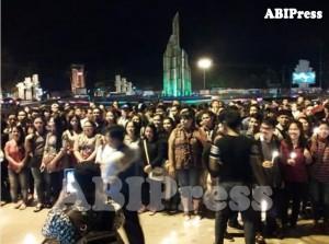 Khatulistiwa Berdoa, Aksi 1000 lilin, Bom Gereja di Samarinda