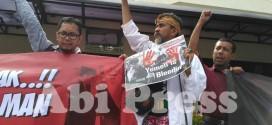 Aksi Massa Tolak Raja Salman Al-Saud Datang ke Indonesia
