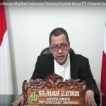 Video: Pernyataan Sikap Ormas Ahlulbait Indonesia Tentang Kontrak Karya PT. Freeport Indonesia
