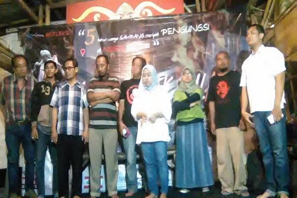 Deklarasi Bersama Pulangkan Pengungsi Sampang