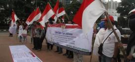 Aksi Massa Dukung Kedaulatan Mineral NKRI