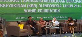 Wahid Foundation Luncurkan Laporan Kemerdekaan Beragama dan Berkeyakinan di Indonesia