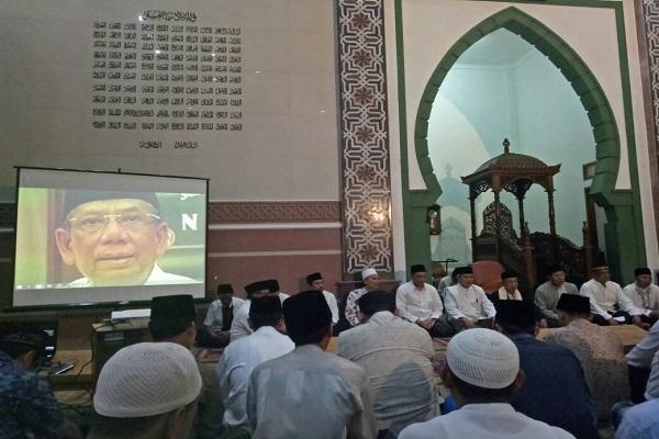 Nasihat Prof. Quraish Shihab saat Peringati 40 Hari Wafatnya KH Hasyim Muzadi