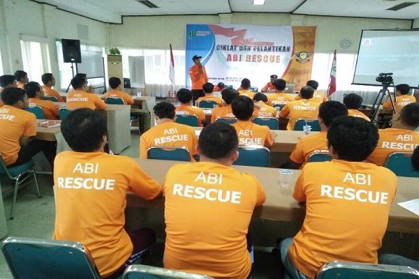 Pelatihan Dasar SAR dan Pelantikan ABI Rescue