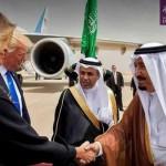 Jabat Tangan Raja Saudi dengan Melania Trump Dihujat Media Pakistan