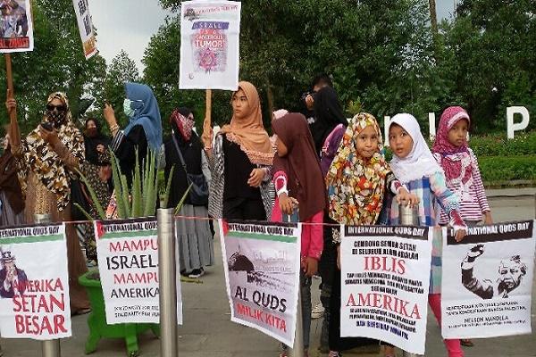 Quds Day di Pontianak Kalimantan Barat