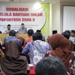 Kemenag Sosialisasikan Pengelolaan Bantuan Online Pondok Pesantren