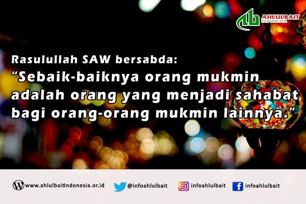 Jadilah Sahabat bagi Mukmin lainnya