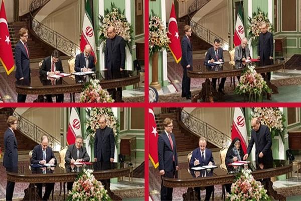 Iran-Turki Tandatangani Empat MoU Kerjasama Bilateral