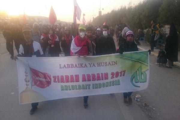 Kafilah Ahlulbait Indonesia Ziarah Arbain Menuju Karbala