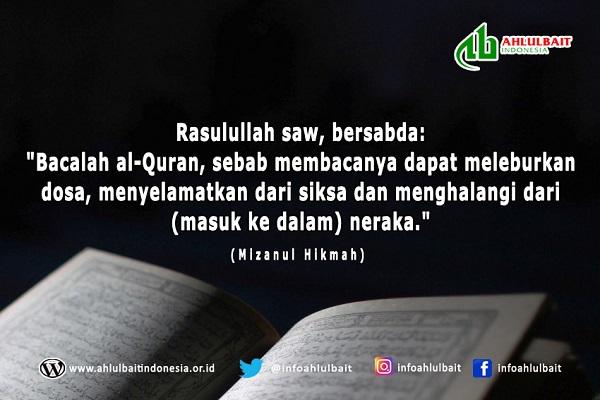 Al-Quran sebagai Penyelamat