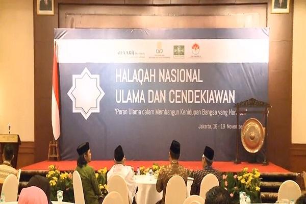 Maarif Institute Gelar Halaqah Nasional Ulama dan Cendekiawan di Jakarta