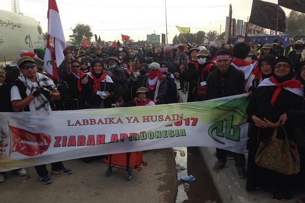 Foto – Perjalanan Ziarah Arbain Kafilah Ahlulbait Indonesia
