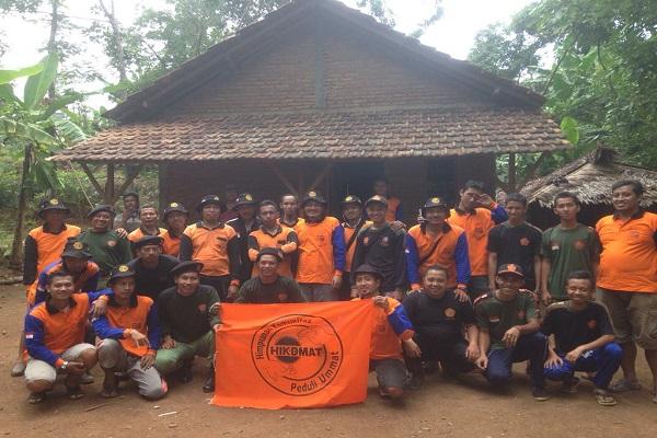 Kerja Sama HIKDMAT dan BANSER Bedah Rumah Warga di Jepara