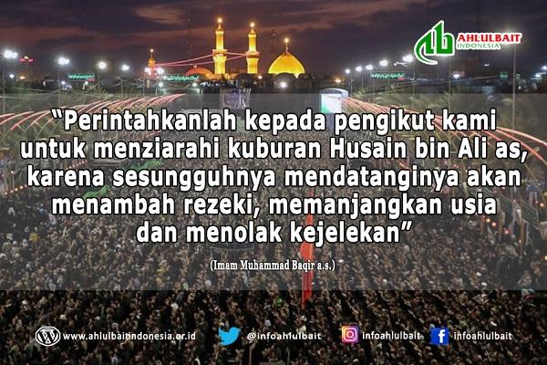 Keutamaan Menziarahi Makam Imam Husain a.s.