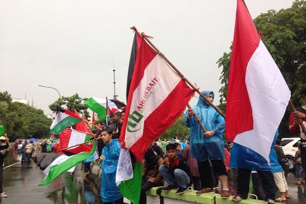 Ormas Ahlulbait Indonesia Gelar Aksi Dukung Kemerdekaan Palestina