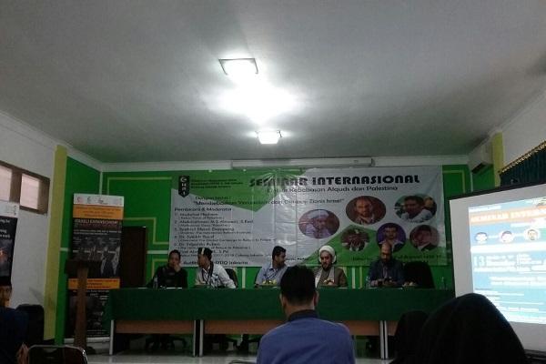 Seminar Internasional Dukung Kemerdekaan Palestina di IPTIQ Jakarta