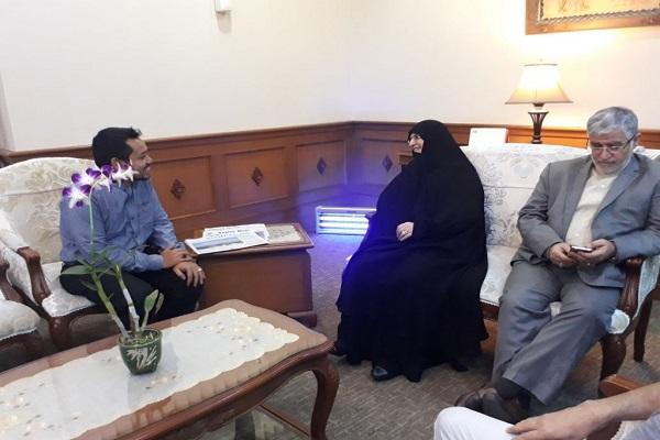 Putri Imam Khomeini Hadir untuk Konferensi 100 Deklarasi Balfour