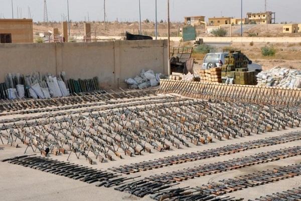 Tiga Kontainer Senjata Saudi Ditemukan di Utara Irak