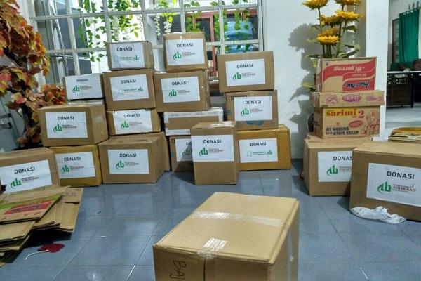 Penggalangan Bantuan DPD ABI dan MAI Kota Balikpapan untuk Korban Kebakaran