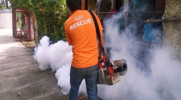 Aksi Fogging ABI Rescue di Cakung, Jakarta Timur