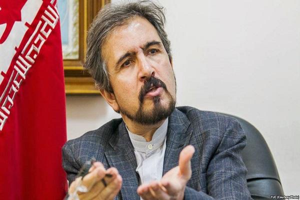 Ghasemi: Iran akan Membantu Rekonstruksi Irak
