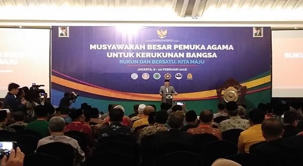 Prof. Din Syamsuddin: Kedepankan Dialog untuk Cegah Potensi Konflik