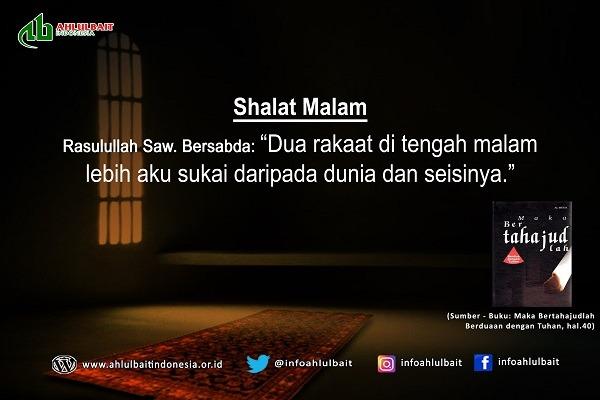 shalat malam Ahlul bait Indonesia