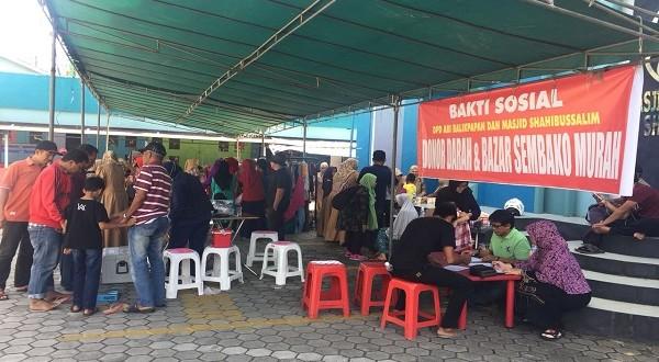 Bazar, Lomba, juga Donor Darah, Meriahkan Acara Milad Fathimah Az-Zahra di Balikpapan
