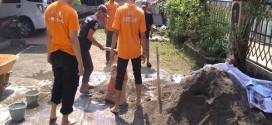 ABI Rescue Bantu Perbaiki Pondok Pesantren di Depok Jawa Barat
