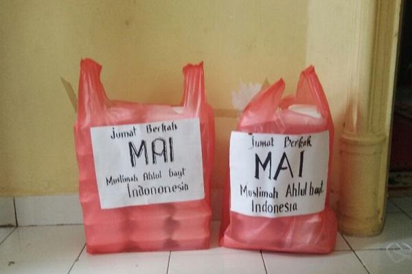 Sedekah Makanan Muslimah ABI Sulawesi Selatan