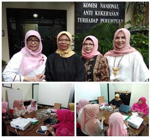Kunjungan delegasi Pimnas MAI ke kantor Komnas Perempuan, Kamis 8 Maret 2018