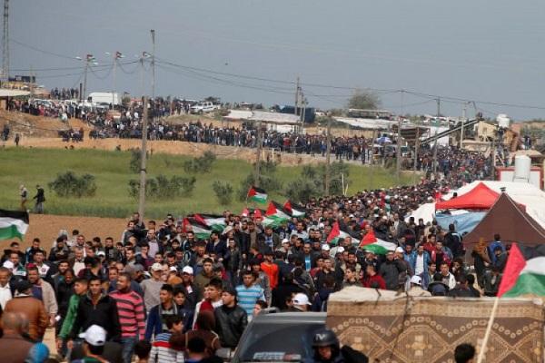 Menuntut Hak Pulang, Warga Palestina Disambut Serangan Militer Tentara Israel