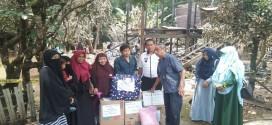 Muslimah ABI Sulawesi Selatan Kirim Bantuan untuk Korban Kebakaran