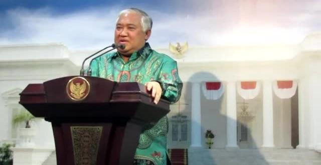 Din Laporkan Rencana KTT Ulama Muslim Dunia kepada Presiden