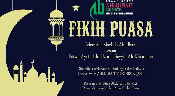 Fikih Puasa Menurut Mazhab Ahlulbait