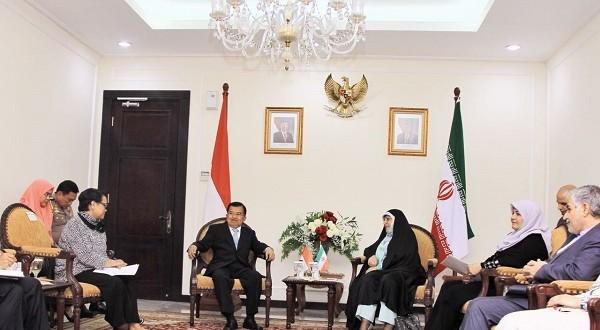 Kunjungan Wakil Presiden Iran ke Indonesia: Indonesia Dukung Keberlangsungan JCPOA