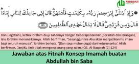 Jawaban atas Fitnah Konsep Imamah buatan Abdullah bin Saba