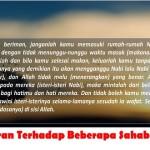 Kritik Alquran Terhadap Beberapa Sahabat Nabi Saw