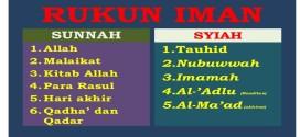 Menyikapi Perbedaan Rukun Iman dan Rukun Islam Sunni dan Syiah