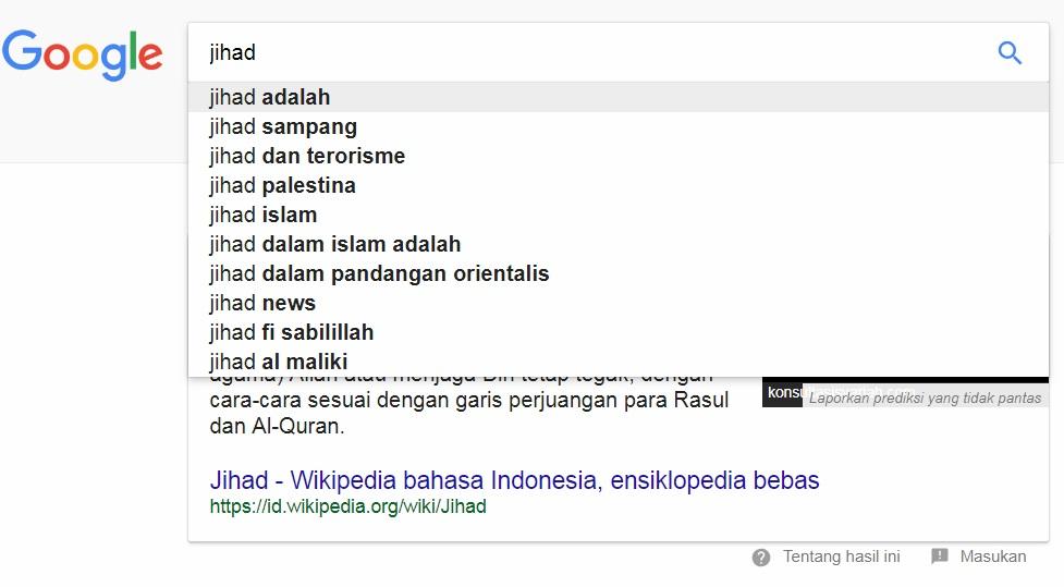 Jihad dan Wajah Muslim di Internet