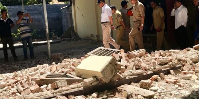 Upaya Pemulihan Proses Belajar Mengajar pasca Gempa