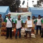 DPW ABI NTB Salurkan Bantuan Korban Gempa Lombok